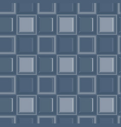 square colored glass mozaic blue tile seamless vector image