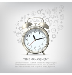 Time Management Poster vector image