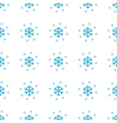 Unique Snow seamless pattern vector image
