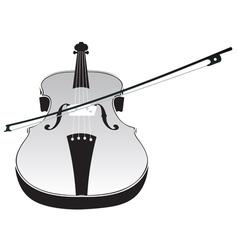 Violin Silhouette2 vector