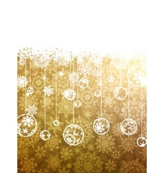 Christmas background template EPS 8 vector image vector image