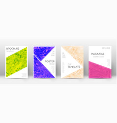 Abstract cover stunning design template suminaga vector