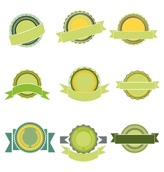 badges vector image