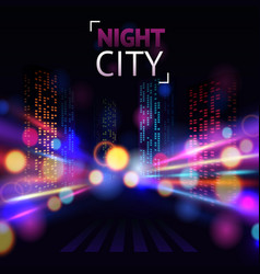 City Blur Background vector