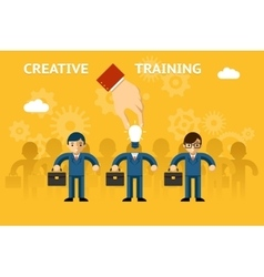 Creative training vector