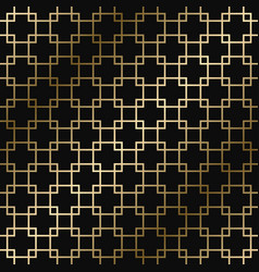 geometric art deco stylish pattern vector image