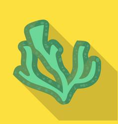 Lichen and algae symbol vector