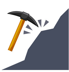 Pick tool icon vector