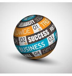 SPHERE BUSINESSb vector image