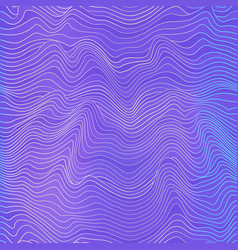 Violet curved seamless pattern vector