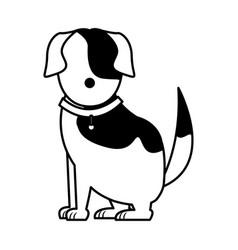 Cartoon dog animal pet family image vector
