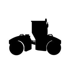 Big road roller vector