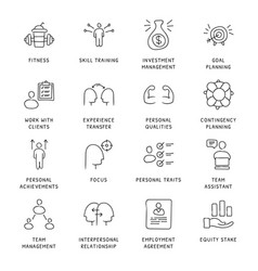 Business concepts icons vector