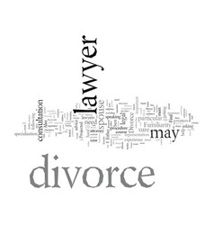 Divorce and lawyers vector