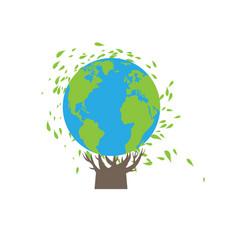 eco symbolic concept vector image