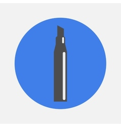Marker icon vector