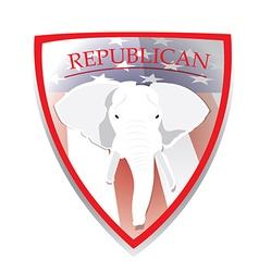 Republican vector image