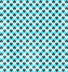 Retro blue seamless pattern vector