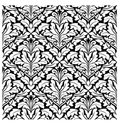 royal damask seamless pattern vector image