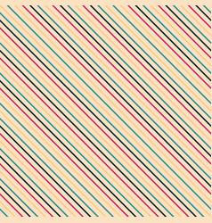 diagonal seamless striped pattern - retro vector image