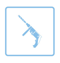 electric perforator icon vector image