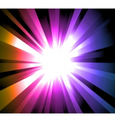 light explosion vector image