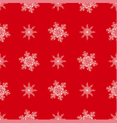 Winter seamless background with snowflakes for vector