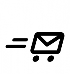 fast mail vector image vector image