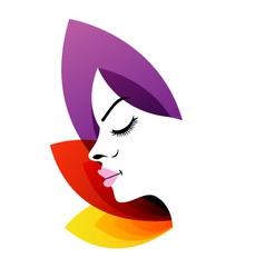 Logo For Ladies Fertility Center vector image vector image