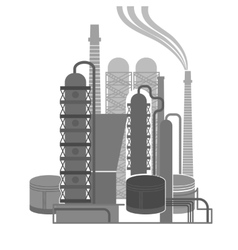 Oil Plant 05 A vector image
