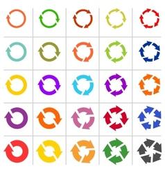 25 arrow pictograph refresh reload rotation loop vector
