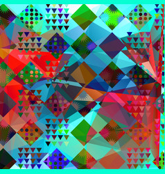 abstract modern geometric background for design vector image