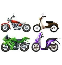 Bikes set vector