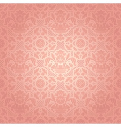 floral ornamental background vector image