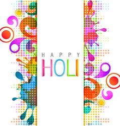 Holi background vector