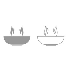 hot dish it is icon vector image