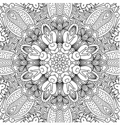 mandala ethnic background vector image