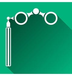 Opera Glasses Icon vector