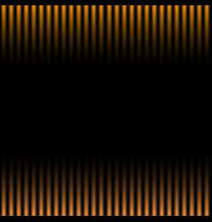 Orange and black gradation striped pattern vector