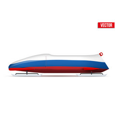 Russian bob for bobsleigh vector
