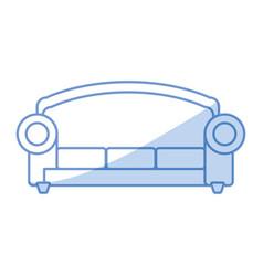 Sofa furniture symbol vector