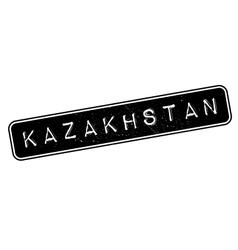 Kazakhstan rubber stamp vector image