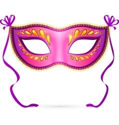 venitian carnival mask vector image vector image