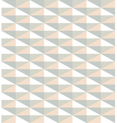 pattern from light color triangles vector image