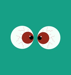 Zombie eyes vector