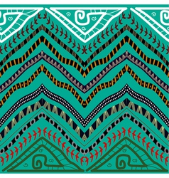 Abstract seamless pattern in ethnic style Stock vector image