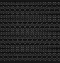 abstract tech black triangles geometric pattern vector image