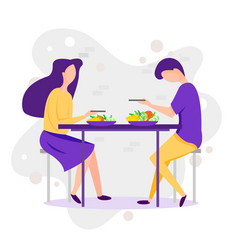dating cartoon funny of vector image