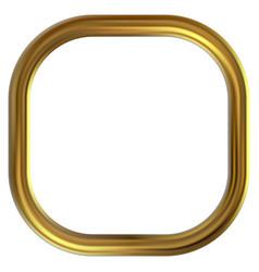 frame gold clip art vector image