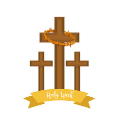 Holy week vector